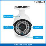 De Camera van kabeltelevisie IP van het Toezicht van de Veiligheid OEM/ODM 2MP/4MP met Mic