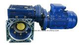 NMRV Gusano Reductor de engranajes con pre-etapa helicoidal unidad del motor