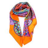 Удобный и мягкий Silk шарф Связывать-Покрашенный Paj длинний