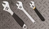"10 "" Quality Carbon Steel Matte Chromium plates Plated Adjustable Spanner Wrench"
