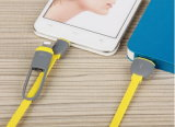 Цветастый TPE 2 1m в 1 мягком быстром зарядном кабеле для пользы Huawei iPhone