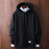 2017 Bulk 100% Algodão Men's Custom Hoodies Men (OEM)