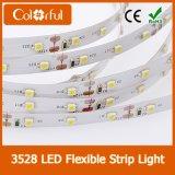 Indicatore luminoso di striscia indirizzabile di DC12V SMD3528 120LED/M RGB LED
