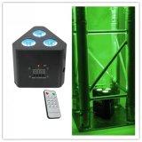 Indicatore luminoso all'ingrosso di PARITÀ della fabbrica 3X10W RGBW 4in1 LED per la fase