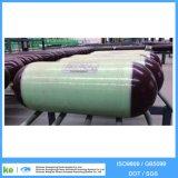 80L cilindro do diâmetro 20MPa CNG do aço CNG-1 279mm
