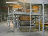 가득 차있는 자동적인 합성 석영 돌 석판 생산 라인 & 압박 기계