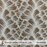 Мягкие большое часть ткани шнурка одежды или оптовая продажа (M3440)