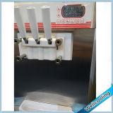 Fabricante de gelado congelado carrinho do assoalho de 3 sabores