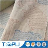 항저우 유액 매트리스 폴리에스테에 의하여 뜨개질을 하는 매트리스 똑딱거리는 직물