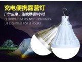 도매 가구 전구 재충전용 9W 12W E27 지적인 긴급 LED 빛