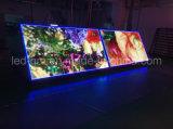 Avant étalage d'écran extérieur imperméable à l'eau du bloc supérieur P10 DEL pour la publicité