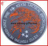 ユニフォーム(YH-EB020)のためのヴェルクロが付いている刺繍のバッジの背部
