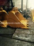 Assy original da cubeta da garra das cubetas da rocha da máquina escavadora das peças da máquina escavadora E336