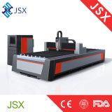 Estaca do laser da fibra do projeto de Jsx-3015D Alemanha e máquina de Graving com cor vermelha
