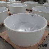Kingkonree por encargo de la superficie sólida de baño bañera de masaje
