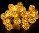 OEM de la luz de tira del LED con la estrella y del diseño del árbol de Navidad para la decoración de la boda