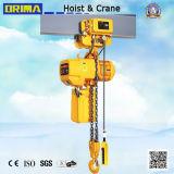 3t高い評判のBrimaの電気トロリーが付いている電気チェーン起重機