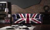 BRITISCHES Markierungsfahnen-Gewebe-Sofa