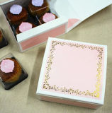 月ケーキの包むか、または折るペーパー月ケーキのための習慣によって印刷されるペーパーギフト用の箱