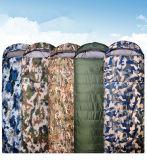 Para baixo Camo Mummy Militar Tactical exterior Viajar Camping Sports Tamanho Grande Sleepping Bag