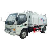 Yueda 상표 측 선적 쓰레기 트럭