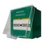 Nenhuma liberação Resettable branca da porta Emergency de COM do Nc com furo 2 (SACP22W)