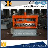 Kxd 800 a ridé le roulis de profil de feuille de toiture en métal formant la machine