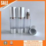 runde luftlose Aluminiumflasche 15ml30ml50ml mit Sprüher