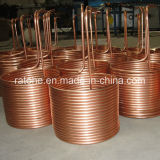 Bobina de cobre da panqueca para o sistema de Coolling