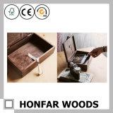 昇進のギフトのための指接合されたクルミの木製の記憶包装ボックス