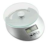 Digitas eletrônicas que pesam a escala da cozinha
