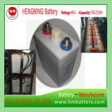 Hengming NiCd Serie der Batterie-48vgnc150 1.2V 150ah Kpx/ultra hohe Kinetik/alkalische nachladbare Batterie und gesinterte Platten-Batterie für Generator-Set