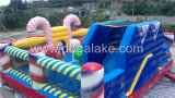 2016 Maison de bonbons gonflable populaire Bouncy Castle for Kids
