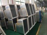 Congelador de cristal curvado popular del pecho de la puerta con capacidad de congelación 308L