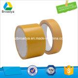 Bande de conduit de tissu de côté de double d'épaisseur de 250 MIC avec le papier de desserrage d'auto-collant