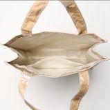 Bolso de compras claro del papel del arte de la Duoble-Cubierta con el PVC impermeable, bolso de libro