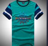 Overhemd van de Koker van de Hals van de Bemanning van de manier het Korte voor Mannetje