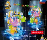 Kundenspezifische Fiberglas-Roboter-Riesenrad-Unterhaltungs-Maschine für Kinder