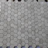 Novo mosaico de mármore hexagonal de madeira bonita