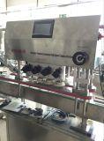 Máquina tampando do frasco detergente automático