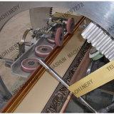 Perfil plástico del marco que hace la máquina