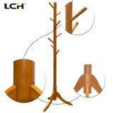 현대 거실 가구 나무로 되는 옷 걸이 선반