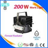 Vente chaude 3 ans de lumière industrielle de la garantie IP65 200W DEL