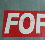 ブロックのビニールPVC旗(SS-VB90)を広告する屋外のカスタム印刷