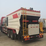 Aferidor Synchronous da microplaqueta do asfalto do caminhão de tanque da selagem da microplaqueta de Shacman 20m3