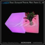 RGB 다채로운 바는 LLDPE 물자를 가진 LED 입방체를 착석시킨다