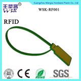 Selo plástico da segurança da venda quente RFID para a logística da bagagem dos caminhões dos recipientes