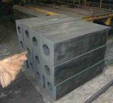 Perforación rectangular de la defensa cuadrada de goma cuadrada de las defensas