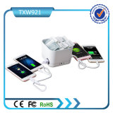 4 Bank van de Macht van het Menu van de Capaciteit van de Bank van de Macht van de Winkel van de Koffie USB 20000mAh de Grote