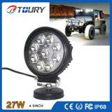 自動27W LED作業ランプオフロードLED車ライト